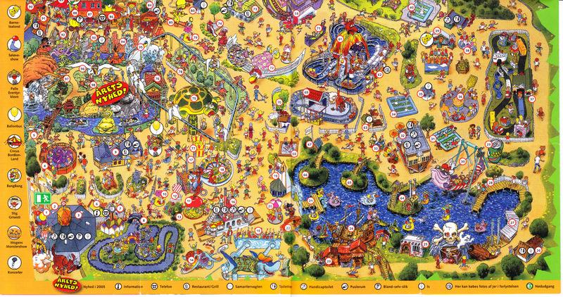 legoland i danmark kart