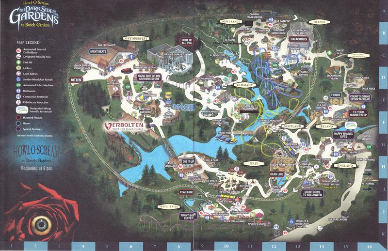Busch gardens va park map pdf developersjoint for Bush garden howl o scream 2017