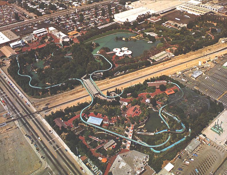 Busch Gardens Los Angeles Nolstalgic Park Photos