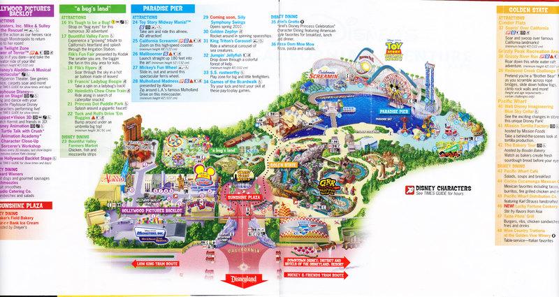 Disneys California Adventure Map 2015 | New Calendar Template Site