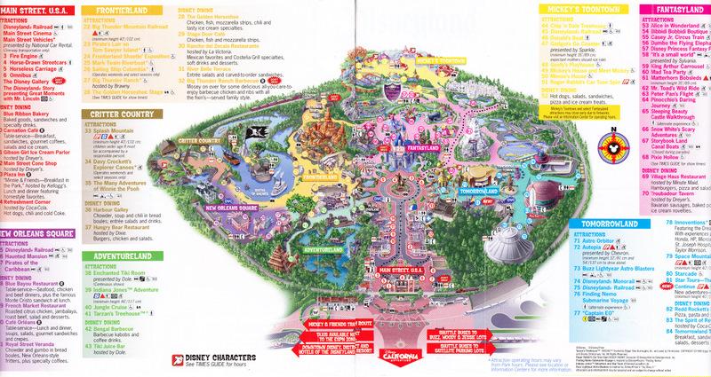Disneyland Park Map 2013 Pdf Printable disneyland map 2015 related ...