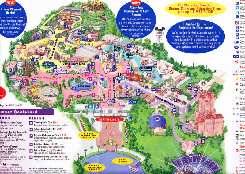 Pics Photos - Maps Of Disney Theme Parks Walt Disney World Resort Map