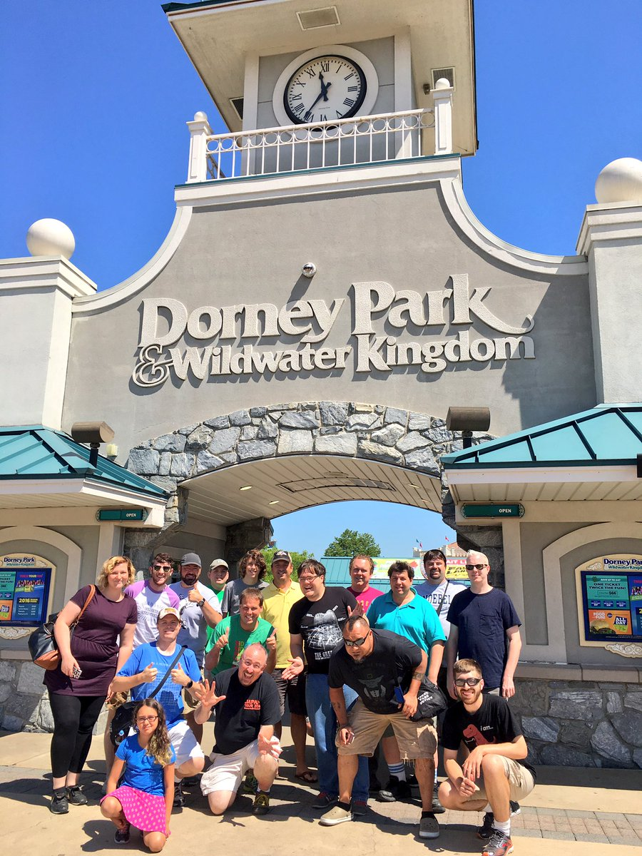 Dorney Park Amp Wildwater Kingdom Usa 2016 Robb Amp Elissa