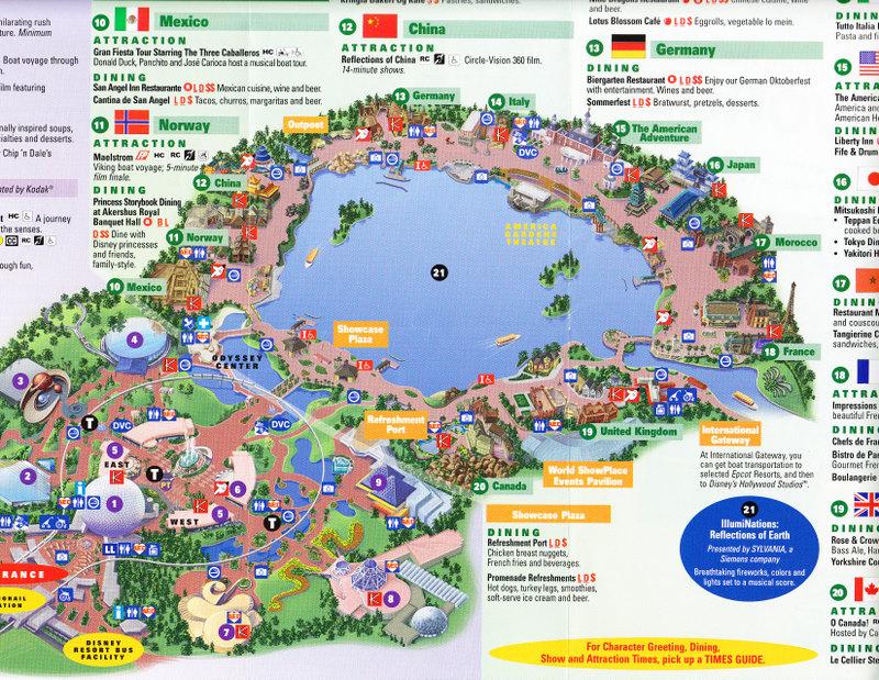 Index of /parks/pimages/Epcot_at_Walt_Disney_World/2008_Park_Map