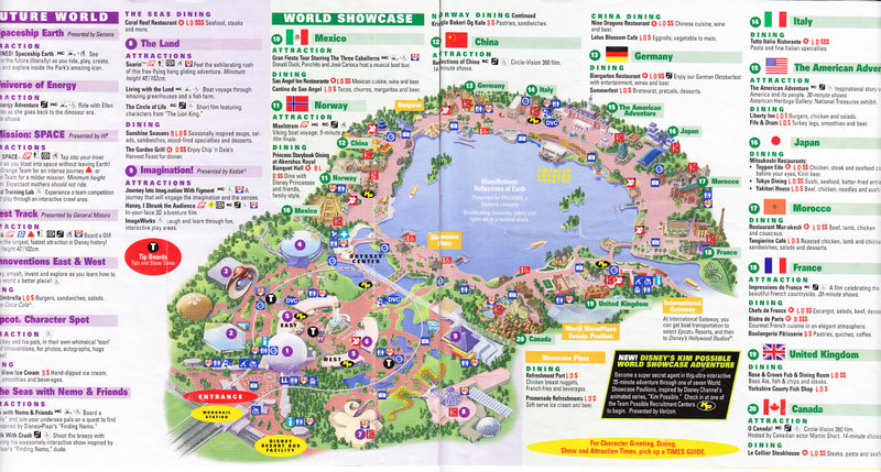 Mission space epcot map