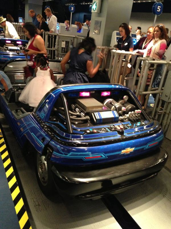 Epcot at Walt Disney World - Test Track Re-Launch Party
