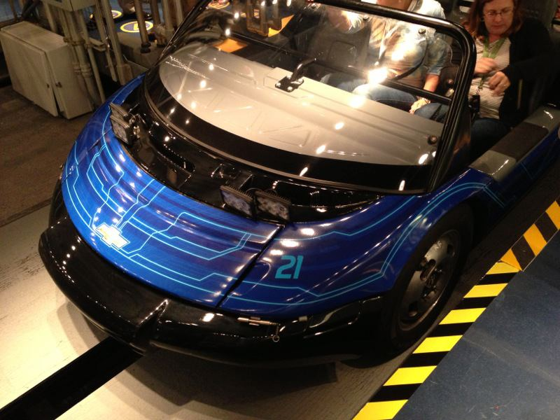 Check Out The New Paint Job On Test Track Cars