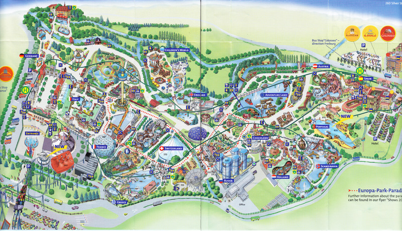 Karten Europapark