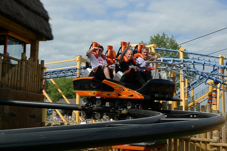 Flamingo Land - Theme Park Reviews 2010 Uk Trip-3523