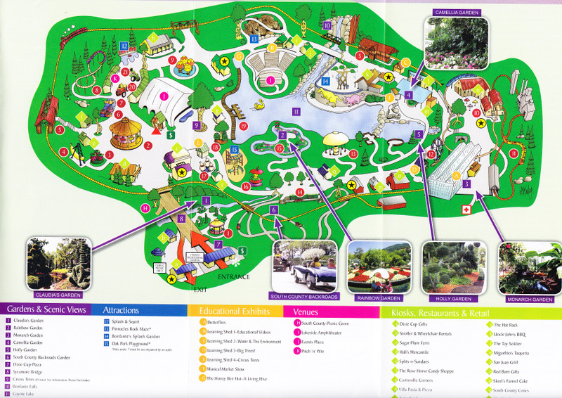 Gilroy Gardens Theme Park Map Garden Ftempo