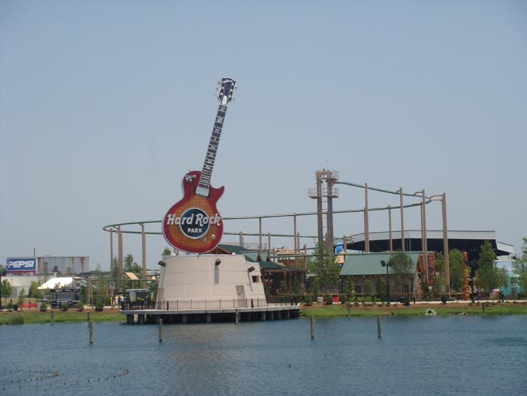 Elissa Joey And I Robb Took A Trip To The South Check Out New Hard Rock Park So Far What They Have There Is Nice Some Very Well Themed Areas