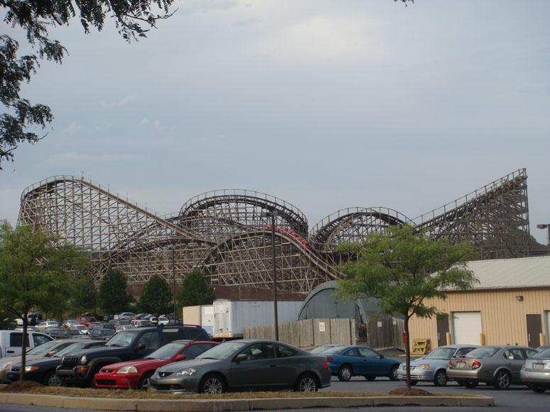 Hersheypark Theme Park Review S 2008 East Coast Tour