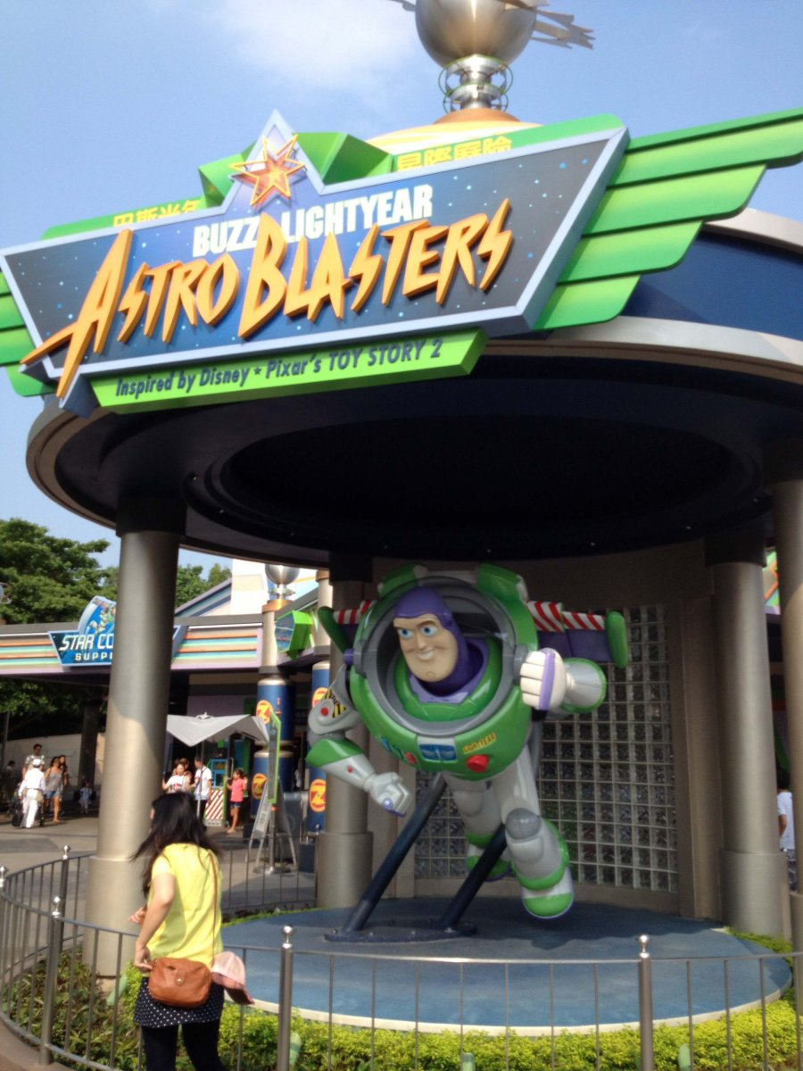 Hong Kong Disneyland - Buzz Lightyear Astro Blasters
