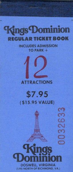 Kings Dominion - Mark U0026 39 S Postcard Paradise