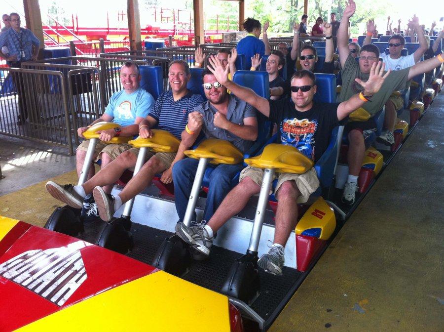 Disney Roller Coaster >> La Ronde - Goliath