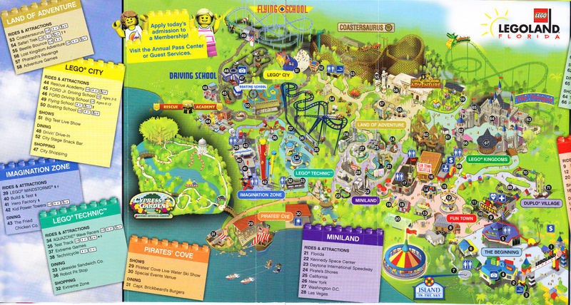 Legoland Map Quotes
