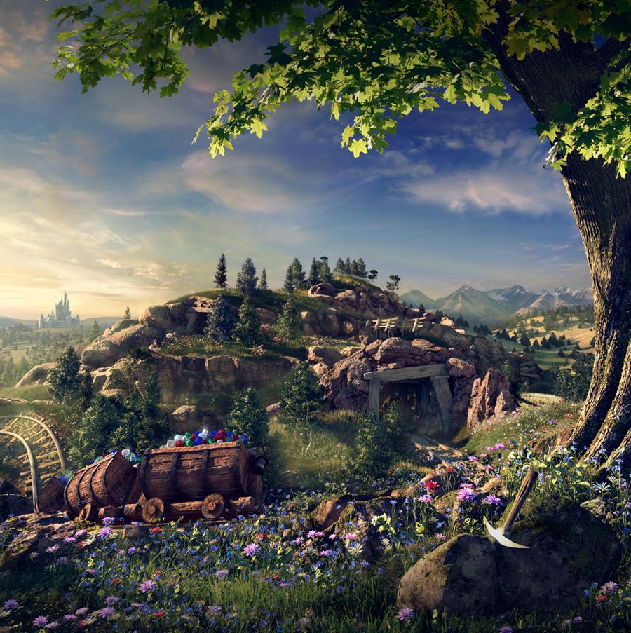 7 dwarfs mine train magic kingdom