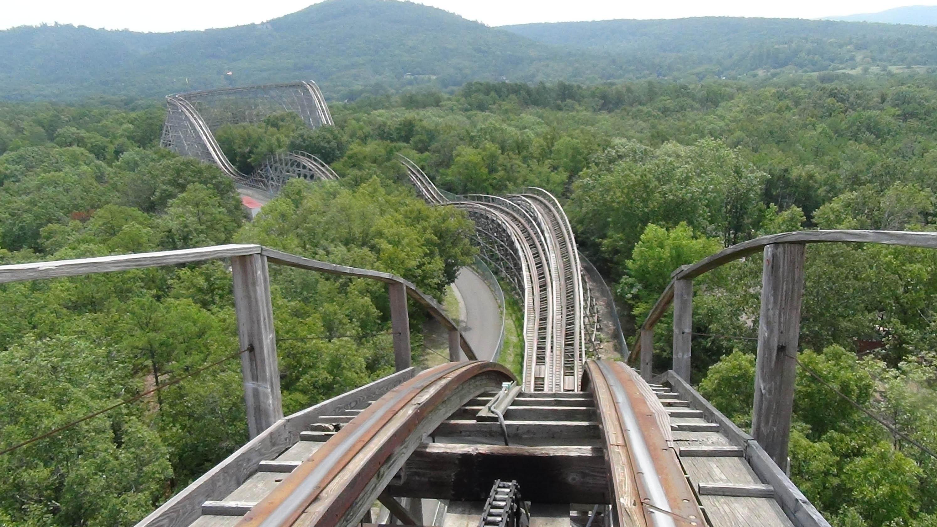 Magic Springs Crystal Falls Arkansas Twister