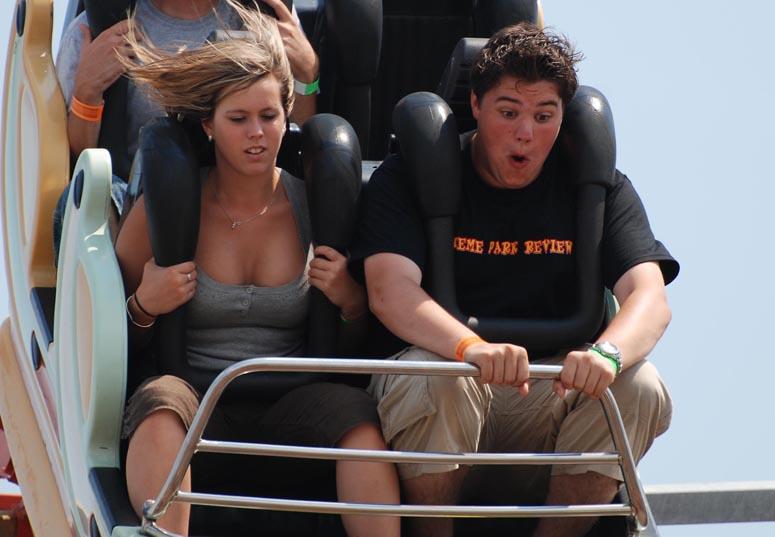 Catch, but theme park boob REINA