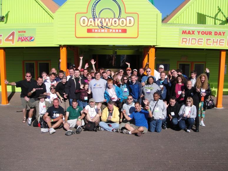 Oakwood Theme Park - Theme Park Review's 2010 UK Trip