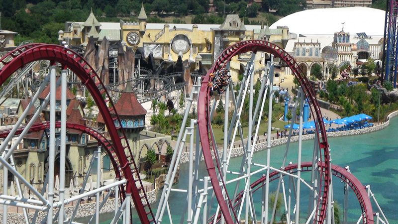 Rainbow Magicland Theme Park Review S Italy 2012 Tour