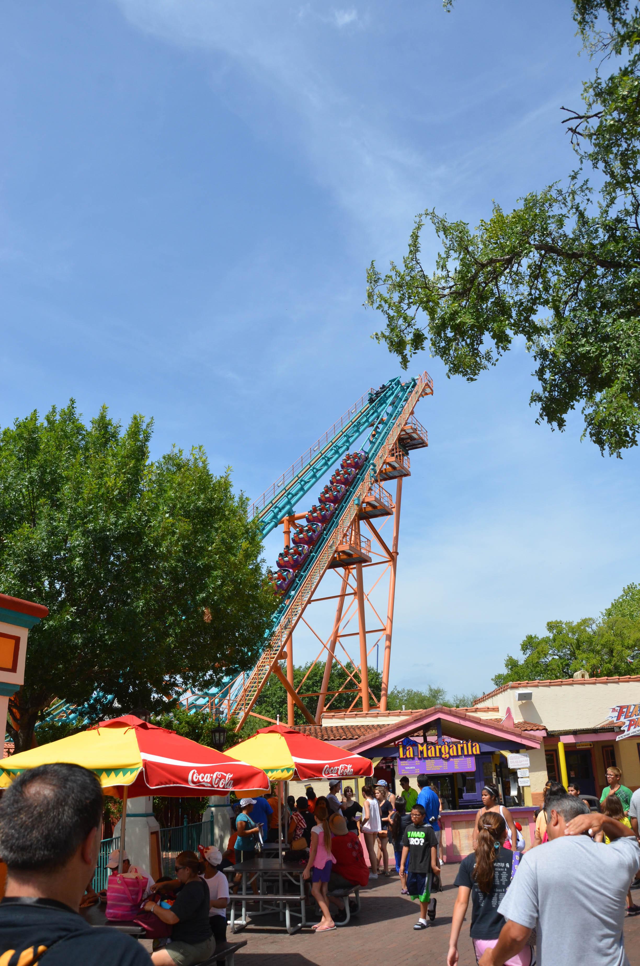 Six Flags Fiesta Texas Boomerang
