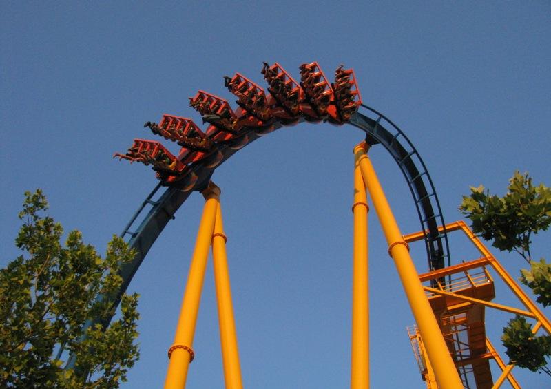 Six Flags Fiesta Texas Goliath