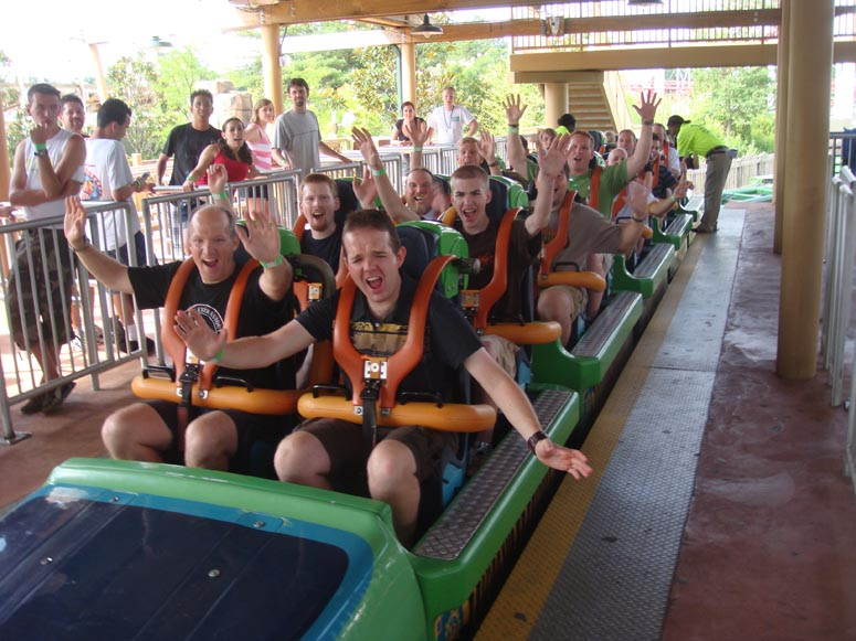 Six Flags Great Adventure Theme Park Review S 2008 East