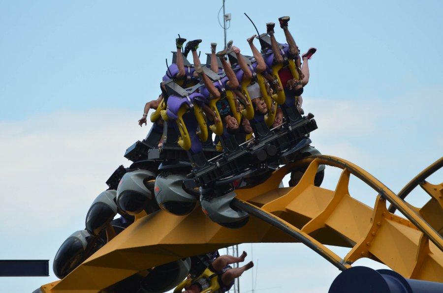 Six Flags Great America - Batman: The Ride