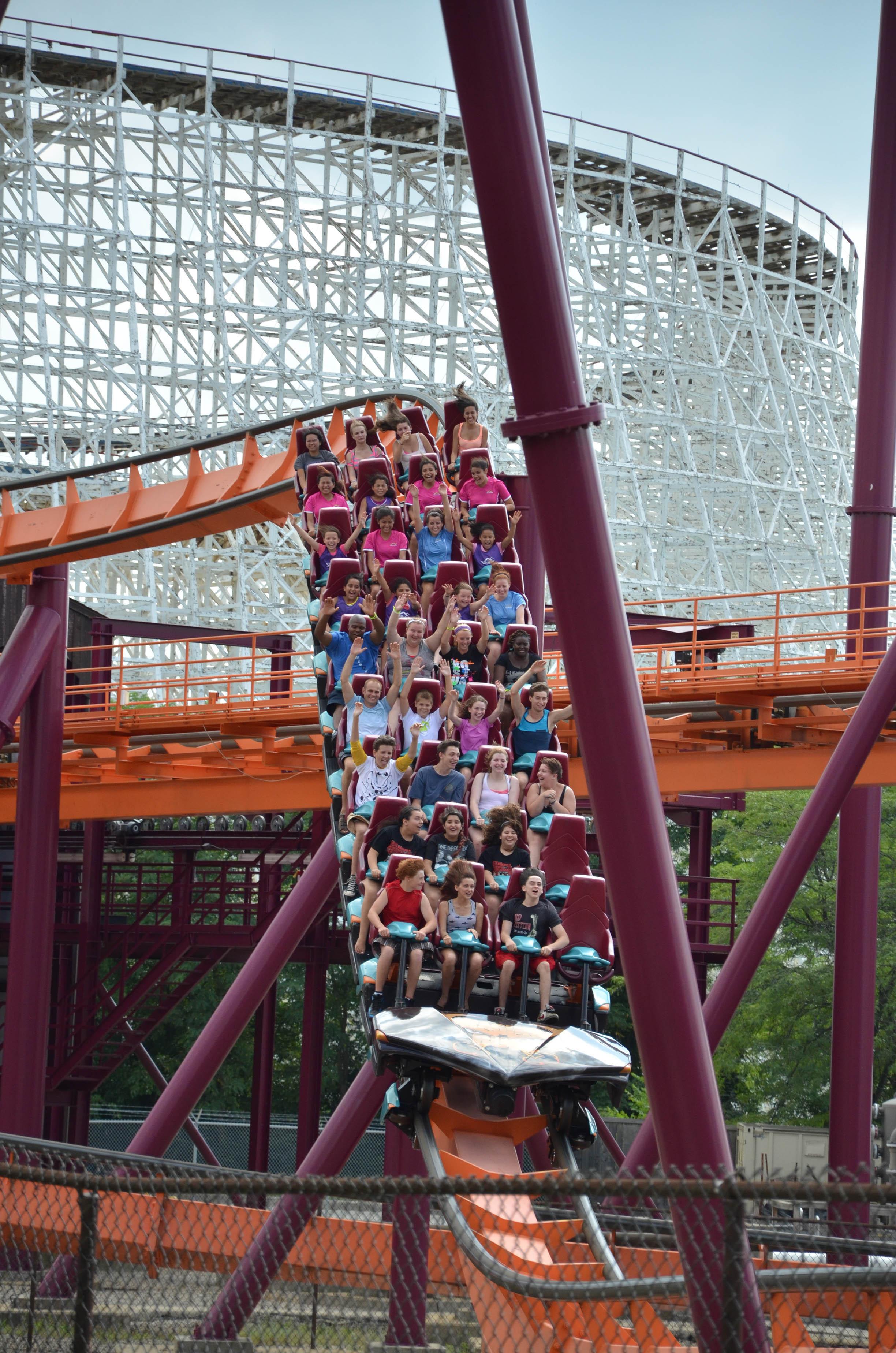 Six Flags Great America Raging Bull