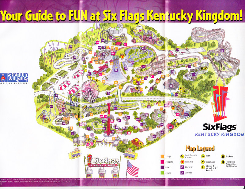 Six Flags Kentucky Kingdom 2015 Images