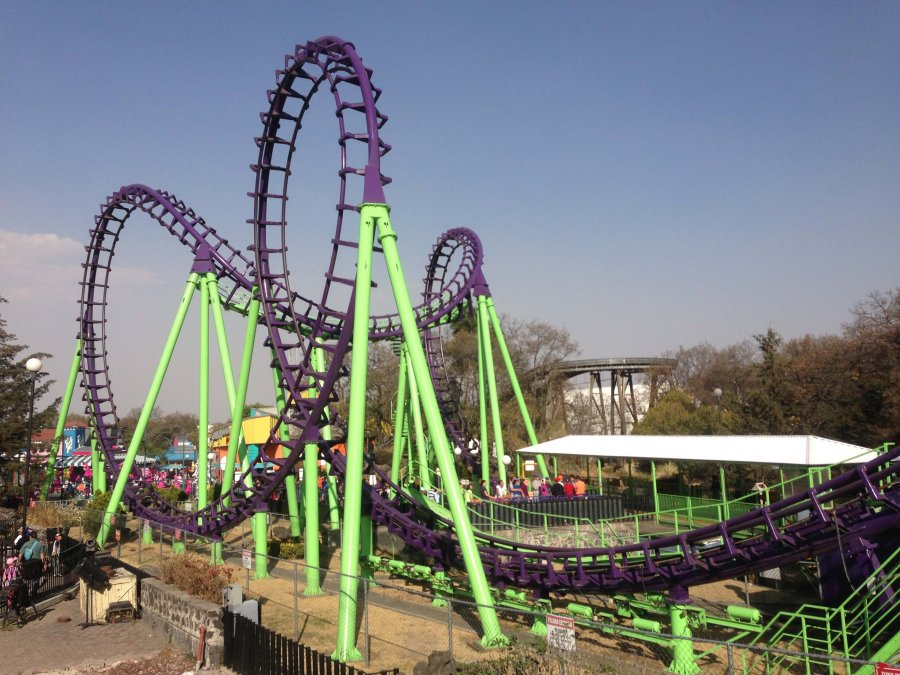 Six Flags Mexico Boomerang