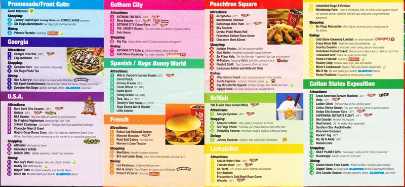 Calendar For Six Flags Over Georgia 2016 | Calendar Template 2016