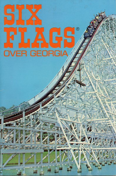 Six Flags Postcard