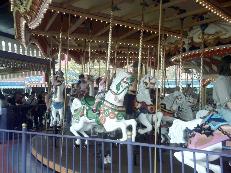 Tokyo Disneyland Castle Carousel