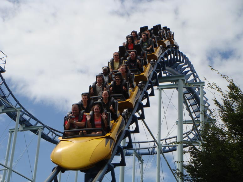 Toshimaen - Theme Park Reviews 2008 Japan Trip