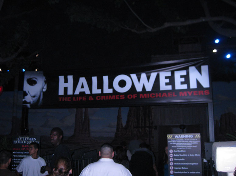 Universal Studios Hollywood - Halloween Horror Nights 2009