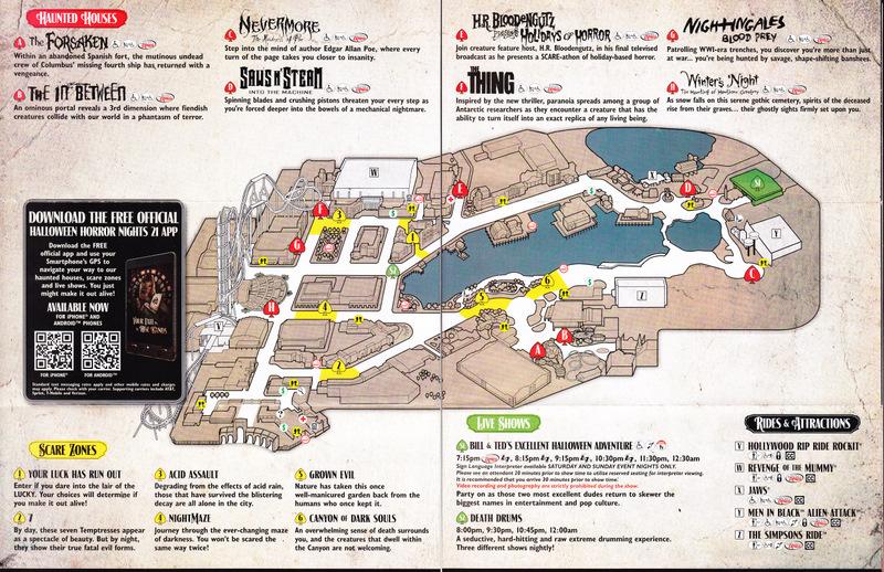 universal studios florida map 2011