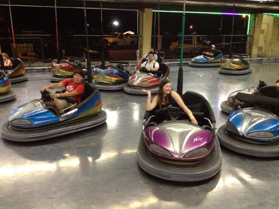 Waldameer Amusement Park Bumper Cars
