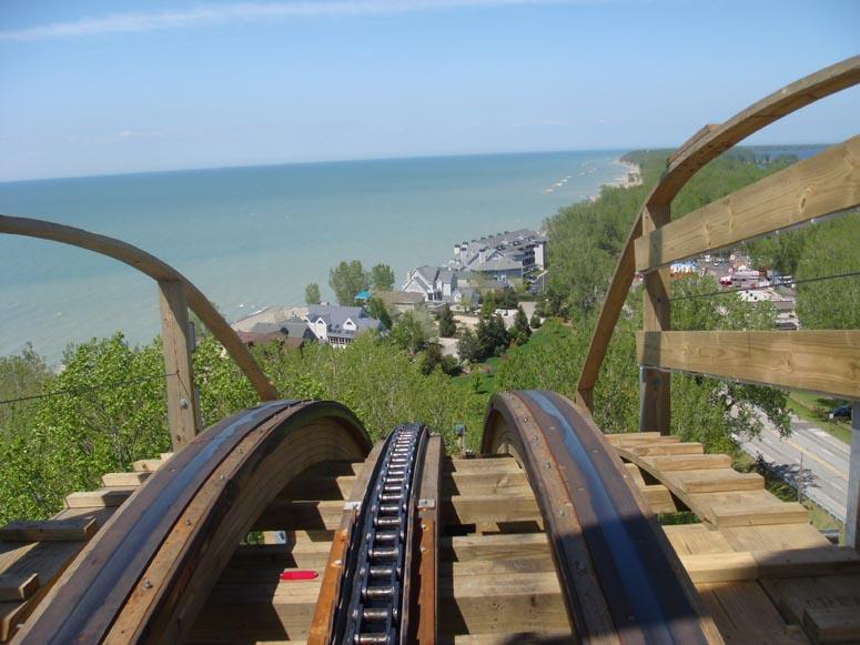 Waldameer Amusement Park - Ravine Flyer II Film Shoot