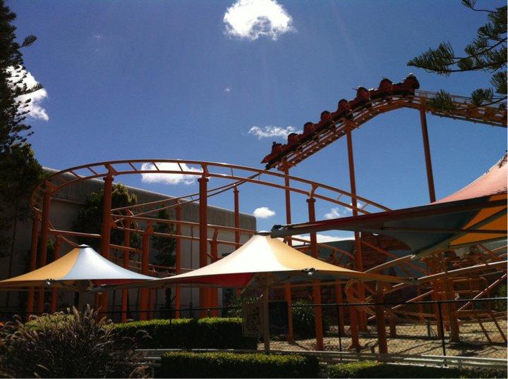 Warner Bros Movie World Theme Park Review S Australia