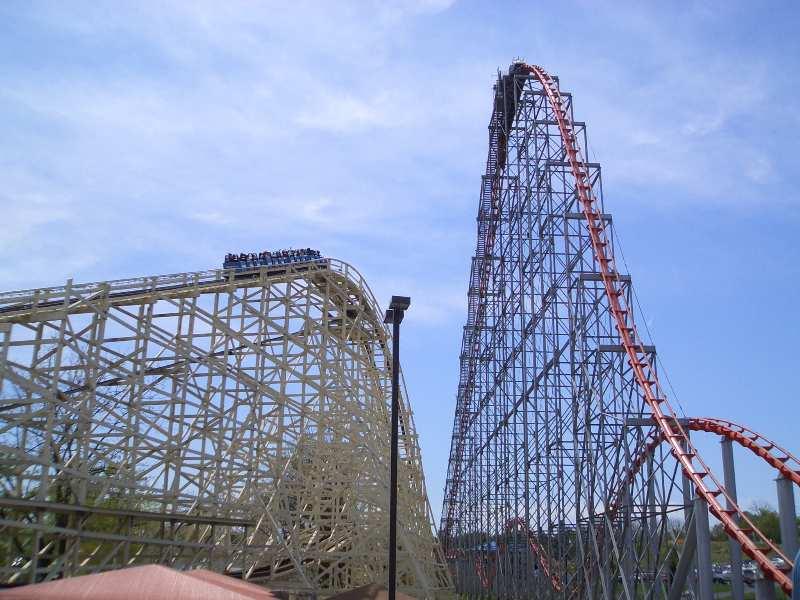 steel force roller coaster photos  dorney park