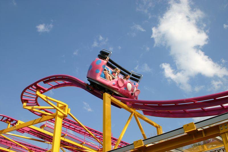 crazy mouse roller coaster photos  martin u0026 39 s fantasy island