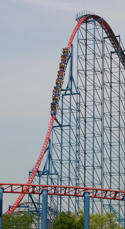 Superman: Ride of Steel Roller Coaster Photos, Six Flags ...