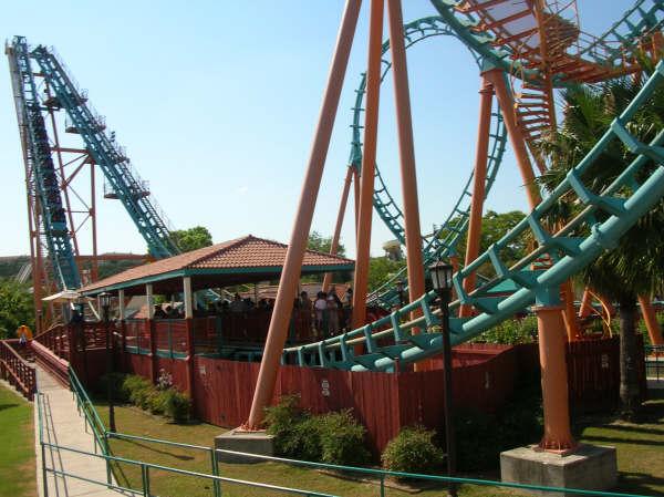 Boomerang Roller Coaster Photos Six Flags Fiesta Texas