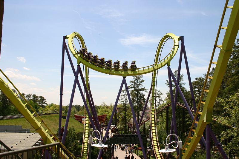 Medusa Roller Coaster Photos Six Flags Great Adventure