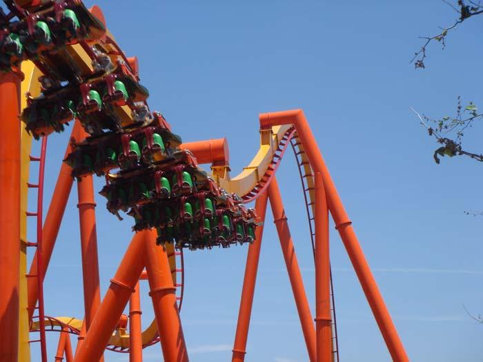 Six Flags Magic Mountain Tatsu Media Day Photos