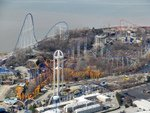 Awesome Aerial Cedar Point Pictures!