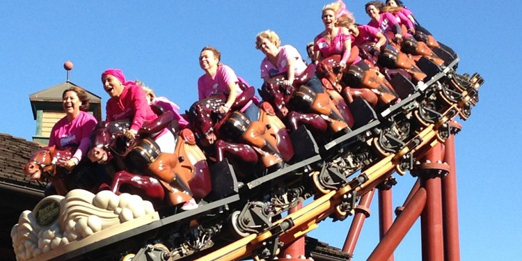 Knotts goes pink for Breast Cancer