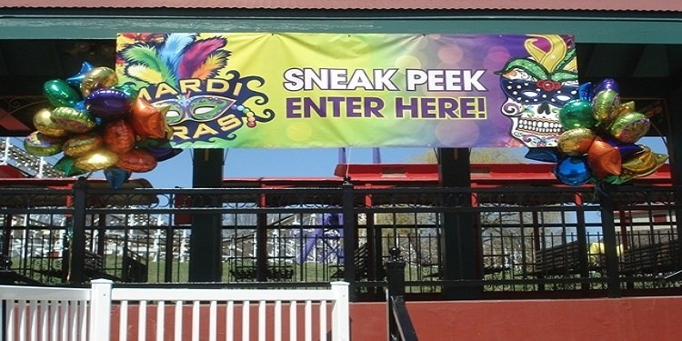 Sneak Peek at Six Flags America's Mardi Gras!